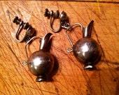 Mexican Tea Pot Earrings