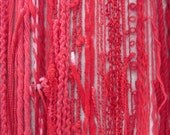 Bright Red Textured Thread Pack