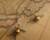 Golden Snitch Earrings