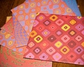 Six-pack Handmade Envelopes