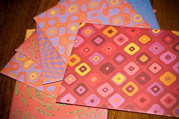 Six-pack Handmade Envelopes