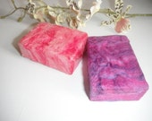 Felted soap pack of two, Organic Lavender Felted Soap, Scented Soap, Wool Soap, Soap Gift Pack