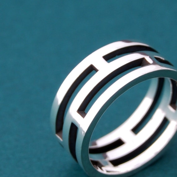 Intercalaire - sterling silver band