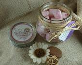 Raspberry & Vanilla Solid Sugar Scrub