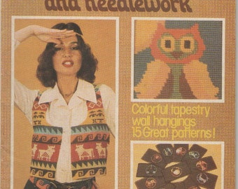 Tapestry and Needlework From the Best of New Idea - Vintage 1970s