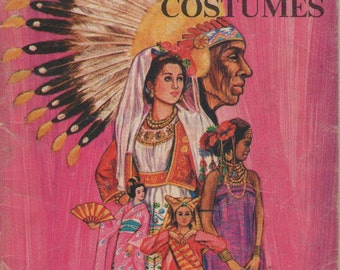 On Sale - Learn About Costumes - Vintage Childrens Book  1970s
