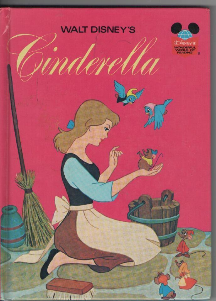 Walt Disney Cinderella Book