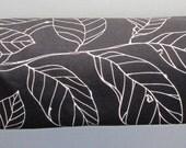 Yoga Mat Bag - Black White Leaf with Adjustable Strap - Yoga Bag