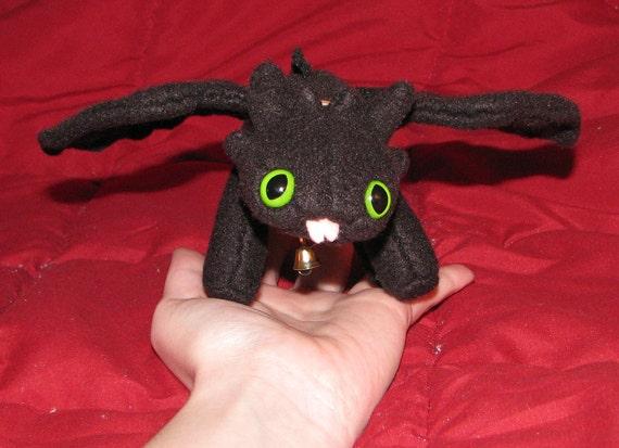 Mini Black Dragon of the Night