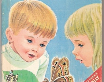 A Moth Is Born Start Right Elf Vintage Childrens Book Illustrated by Dottig 1967