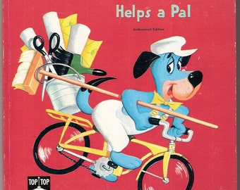 HUCKLEBERRY HOUND Helps a Pal Whitman Top Top Tale Illustrated by Peter Alvarado & Jan Neely
