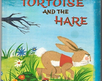 The TORTOISE and the HARE Whitman Fuzzy Wuzzy Book Illustrated by Bonnie & Bill Rutherford