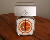 Vintage Pelouze Kitchen Scale 1 lb. Contoured Portion Control Scale 1977 Model ZF16