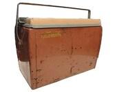Vintage Metal Cooler - Vintage Ice Chest Sportsmaster