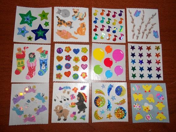 Sandylion Sticker Lot