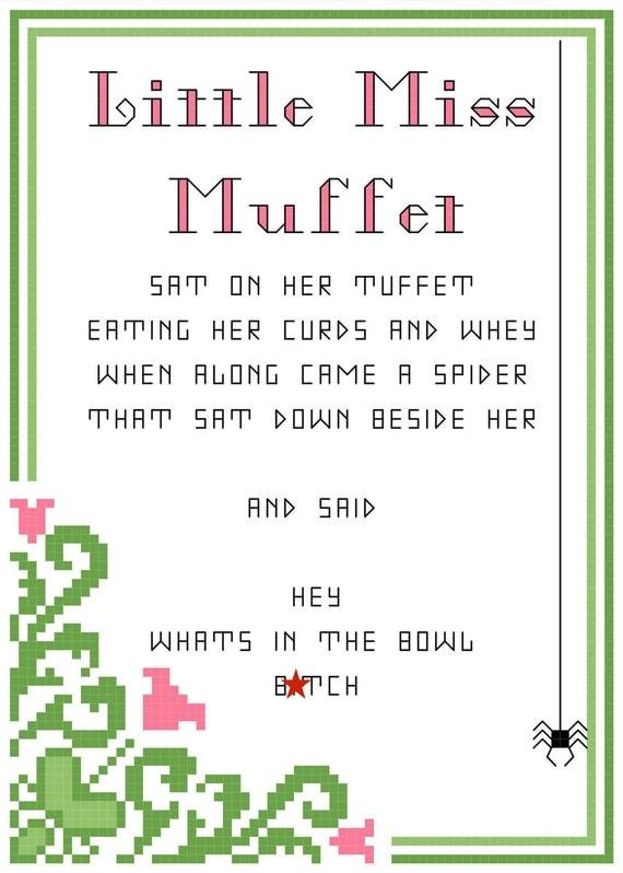 Perverted rhymes