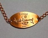 Walt Disney Signature Pressed Penny Bracelet