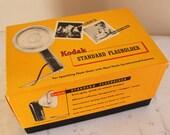 Vintage Kodak Flash Holder / Flasholder - Original Set with Complete Components