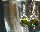 Crystal Briolette Earrings