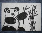 Panda Pal - ACEO