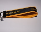 Mizzou Tigers Fabric Key Fob
