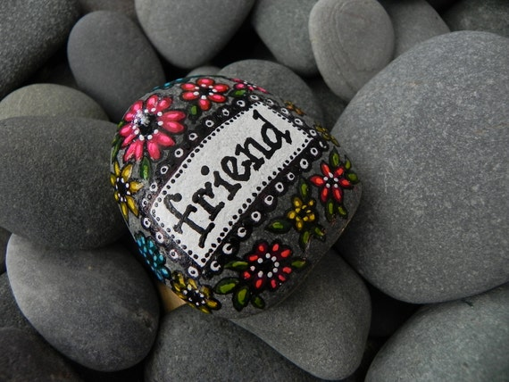 My Forever Friend / Painted Rock / Sandi Pike Foundas
