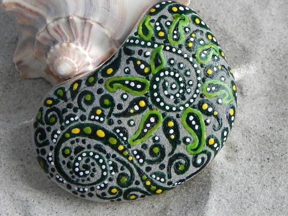 Woodland Fairies Dance / Painted Rock/ Sandi Pike Foundas