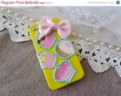 ON SALE Polymer clay cupcake iPhone 4 hard cover