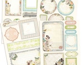 Fairy Belle Scrapbook Journaling Chipboard Embellishment Pieces by Jodie Lee for Prima Marketing