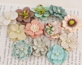 Perle Bebe Fairy Belle Mulberry Paper Flowers by Prima Marketing