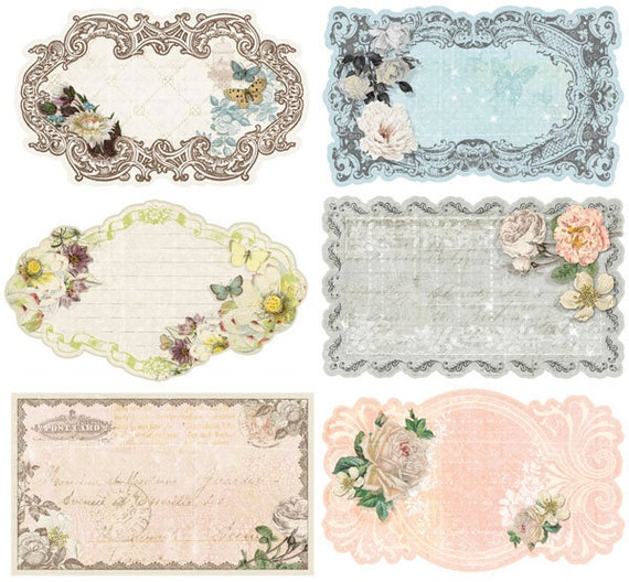 fairy belle journaling notecards stationary set by prima. Black Bedroom Furniture Sets. Home Design Ideas