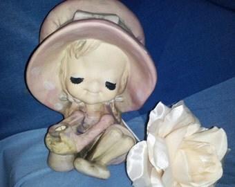 Little Porcelian Girl  Figurine