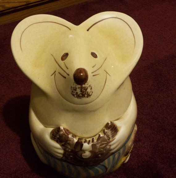 Vintage Mouse Cookie Jar
