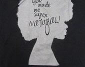 Natural Hair Shirt - Supernatural (L)