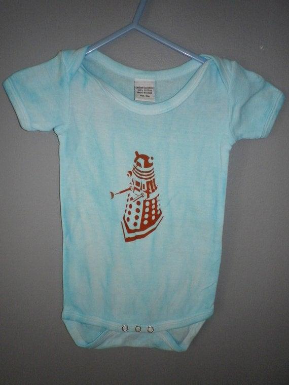 Dalek Onesie for Baby
