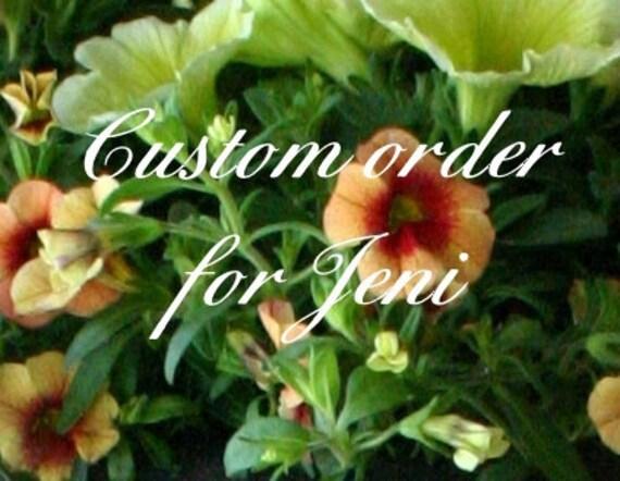 Reserved order for Jeni