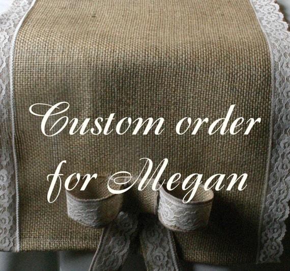 Reserverd order for Megan