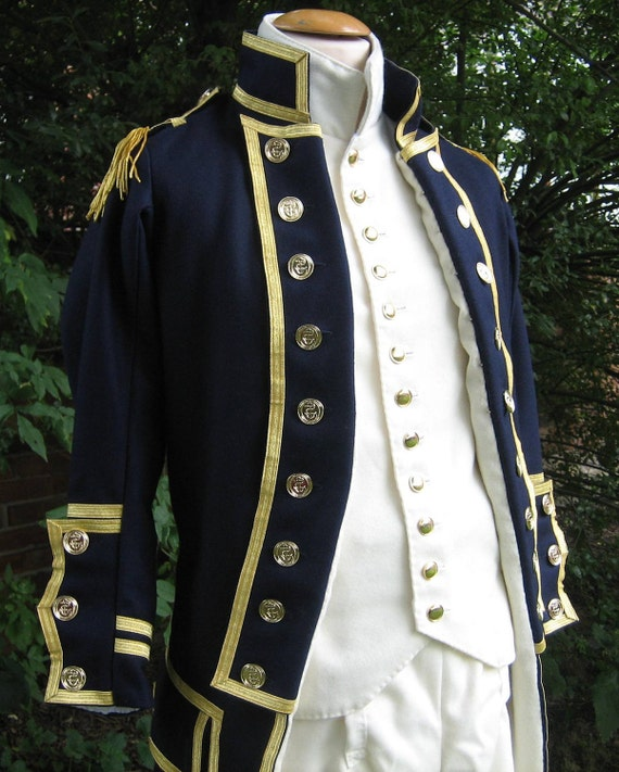 British Royal Navy Uniform, 1795 pattern, Reproduction