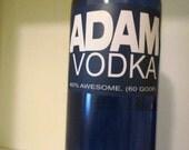 TOTALLY CUSTOM Skyy Vodka Look-alike label