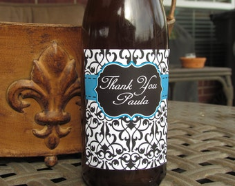 "Personalized ""Thank You"" wine label"