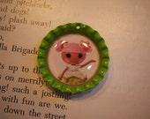 Lalaloopsy Bottle Cap Necklace, Party Favor, Accessory