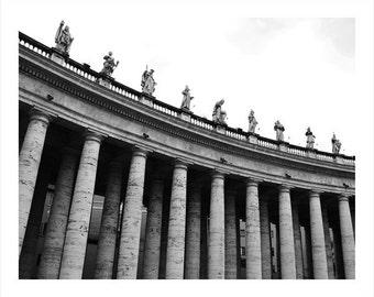 Piazza St. Peter 2, Vatican Italy Photo Print