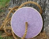 Round Tree Swing - Little bit Lavender