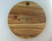 Round Camphor Laure Cheese Board... B Roo Inlaid Cap...