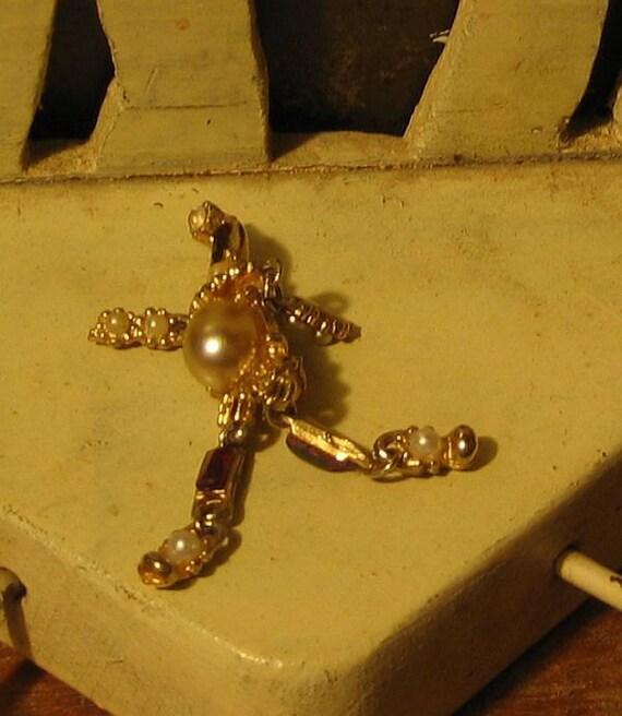 Vintage Clown Pin Brooch