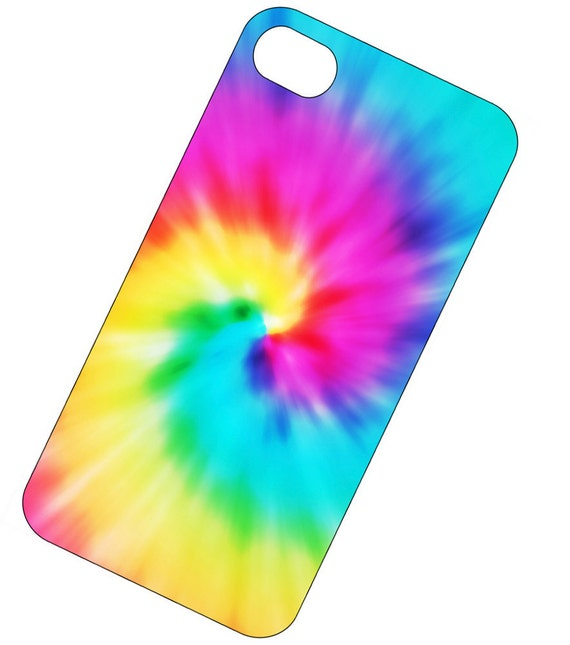 iPhone Case, iPhone 4 or 4S, iPhone cover - Colorful iPhone Case - Tie Dye case