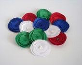 Mix  Christmas Poppies Embellishment / SALE