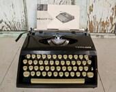 Vintage 1960's Typewriter, Tippa S, Made in West Germany