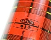 Reserved for Colorado Homes and Lifestyles Magazine - Red Plaid King - Seeley Thermos, Bottle 2242, Pint