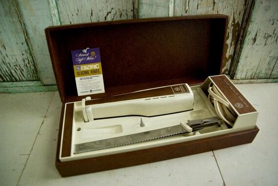 Vintage General Electric Slicing Knife Model Ek 2